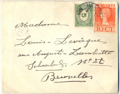 _Nx727:  N° 107+124: MAASTRICHT > Bruxelles Schaerbeek... - 1891-1948 (Wilhelmine)