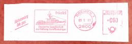 Ausschnitt, Absenderfreistempel, Gesellschaft Rettung Schiffbruechiger, 60 Pfg, Bremen 1993 (71880) - Covers & Documents