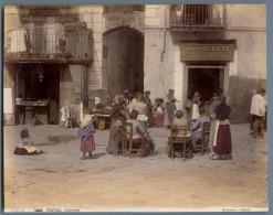 Italia, Costumi Napoli Sommer - Anciennes (Av. 1900)