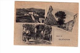 VR167 CARTOLINA ROMA SALUTI DA GUIDONIA VEDUTE VEDUTINE - Guidonia Montecelio