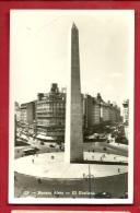DEUA-21 Buenos Aires  El Obelisco. Circulated In 193? Per Suiza - Argentinië