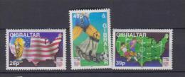 Gibraltar YV 692/5 N 1994 Football Américain - Gibraltar