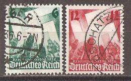 Michel 632/633 O - Deutschland