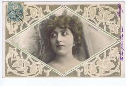 Brandon ,  Artiste 1900 ,  Photo Reutlinger , Cadres Art Nouveau ,  Sip 861/3 - Entertainers