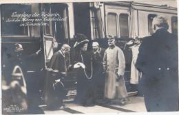 GMUNDEN Bahnhof Kaiserin Victoria Herzog von Cumberland Gro�herzog Schwerin Friedrich Franz IV TOP-Erhaltung ungelaufen