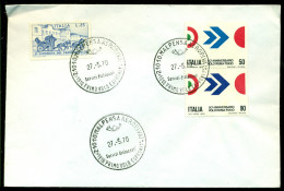 Italië Italia FDC 1970 1e Vlucht Rome-Tokio Zonder Adres - 6. 1946-.. Repubblica