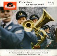 Frohe Lieder Aus Rauher Kehle : Ein Heller Und Ein Batzen U.a  / Schlesier-Lied U.a. - Polydor 21321 - Disco, Pop
