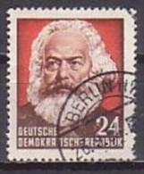 Karl Marx, DDR  349 , O ,  (G 1840) - Karl Marx