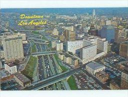 Unused Pre-1980 AERIAL VIEW OF TOWN Los Angeles CA N2844 - Ohne Zuordnung