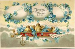 PAQUES(POUSSIN) GAUFREE - Pâques