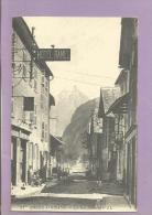 Dépt 38  - BOURG D'OISANS - La Rue Thiers  - Reproduction - Bourg-d'Oisans