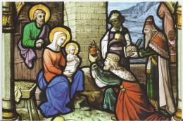Adoration Des Rois Mages. (Voir Commentaires) - Pinturas, Vidrieras Y Estatuas