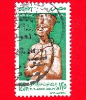 EGITTO - Usato - 1998 - Archeologia - Antichi Re Egiziani - Toutankhamon - Posta Aerea - 125 - Posta Aerea
