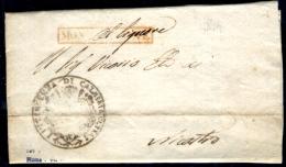 Monteleone-00491 - Piego Del 13 Ottobre 1814 (con Testo) - - Italia