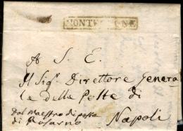 Monteleone-00491d - Piego Del 22 Gennaio 1818 (con Testo) - - Italia