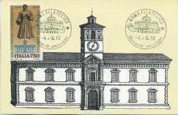 ITALIA - FDC MAXIMUM CARD 1992 - UNIVERSITA´ DI FERRARA - Maximumkarten (MC)