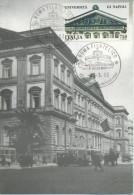 ITALIA - FDC MAXIMUM CARD 1992 - UNIVERSITA´ DI NAPOLI - Cartoline Maximum