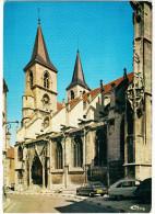 Chaumont: 2x RENAULT 16, CITROËN 2CV - Basilique St Jean  - (Hte-Marne, F) - Passenger Cars