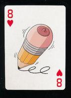 2 Scans  -  Humour Crayon De Papier /  ??? Tee De Golf Sport ???   // IM 126/56 - Vieux Papiers