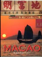Livre neuf MACAO  de Robert Emile Canat