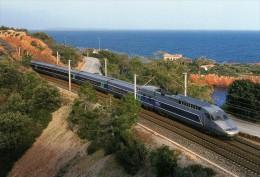RU 0709 - TGV Réseau Vers ANTHEOR CAP ROUX Commune De SAINT-RAPHAEL - Var 83 - SNCF - Antheor
