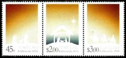 Tokelau - 2014 - Christmas - mint stamp set