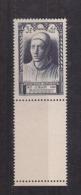 """FRANCE / 1946 / Y&T N° 766 ** : """"Célébrités 15ème Siècle"""" (Jean Fouquet) X 1 BdF Bas - Unused Stamps"""
