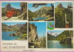 64  °°  Laruns   :-   Excursion En Petit Train Au Lac D' ARTOUSTE  .  Dentelée   ***   NEUVE  Non écrite - Laruns