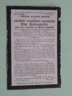 DP Augustus Van AUDENAERDE ( Zoon Van Bulcke ) Westcappelle 15 Juli 1882 / 20 Oct 1901 ( Zie Foto´s Voor Details ) ! - Religione & Esoterismo