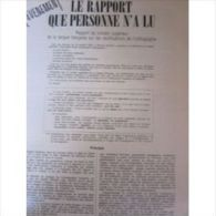 Rapport Du Conseil Sup�rieur De La Langue Fran�aise Sur Les Rectifications De L'orthographe, Suppl�ment 8 Pages � L' �v
