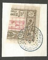 COTE DES SOMALIS N� 13a OBL TTB