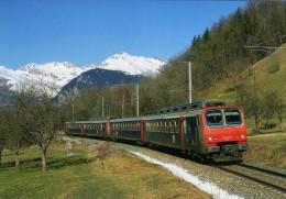 RU 0715 - Automotrice Z 9634 Vers HAUTEVILLE - Savoie 73 - SNCF - France