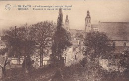 Tienen - Panorama En Ingang Van Het Gasthuis - FLION 25 - Tienen