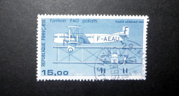 FRANCE POSTE AÉRIENNE 1984 N°57 OBL. (AVIATION CIVILE DE L'ENTRE-DEUX-GUERRES. FARMAN F60 GOLIATH. 15,00 BLEU) - 1960-.... Used