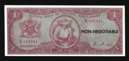 1 Pound - TRINIDAD & TOBAGO , Billet Fantaisie ( N° 470 ) - Trinité & Tobago