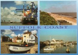 Postcard - Suffolk Coast (Felixstowe/Southwold/Aldeburgh/Lowestoft), Suffolk. C18011 - England