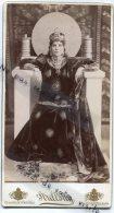 - Grande Photo Ancienne - Magnifique Reine, Duchesse ?, Photo Strelisky, Photographe Royal, Budapest, TBE, Scans. - Ancianas (antes De 1900)