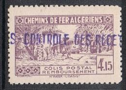 ALGERIE COLIS POSTAL N°90 N* - Algérie (1924-1962)