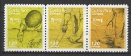 Costa Rica (2005) Yv. 776/78  /  UPAEP - Gezamelijke Uitgaven