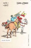 "TOURNOI De CHEVALERIE 1452-1905 - ""Musiciens (Bazuynen)"" - Carte Colorée - Postcards"