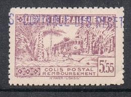 ALGERIE COLIS POSTAL N°91 N** - Algérie (1924-1962)