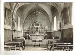 CPSM BONLIEU (Jura) - Intérieur De L'église - France