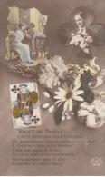 Bloemen Met Motieven    Kaartspel        B 242 - Fleurs, Plantes & Arbres