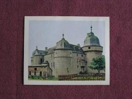 LAVAUX SAINTE ANNE Le Château Belgique Chromo Les Cafés La Créole Trading Card Chromos Vignette - Sin Clasificación