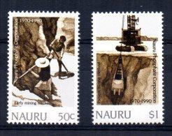 Nauru - 1990 - 20th Anniversary Of Nauru Phosphate Corporation - MNH - Nauru
