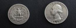 1952 D - QUARTER DOLLAR USA - ETATS UNIS UNITED STATES - ARGENT SILVER - 1932-1998: Washington