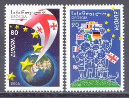 2006. Georgia, Europa 2006, Set, Mint/** - Georgia