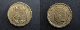 1943 - 1 FRANC MONACO - Monaco