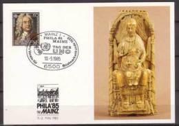 BRD , Karte , Unicef , Phila , 1985  , Mainz , Mi.Nr. 1248 - [7] Repubblica Federale