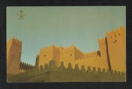 Saudi Arabia Picture Postcard Architectural Art In Diriyah View Card - Saudi Arabia
